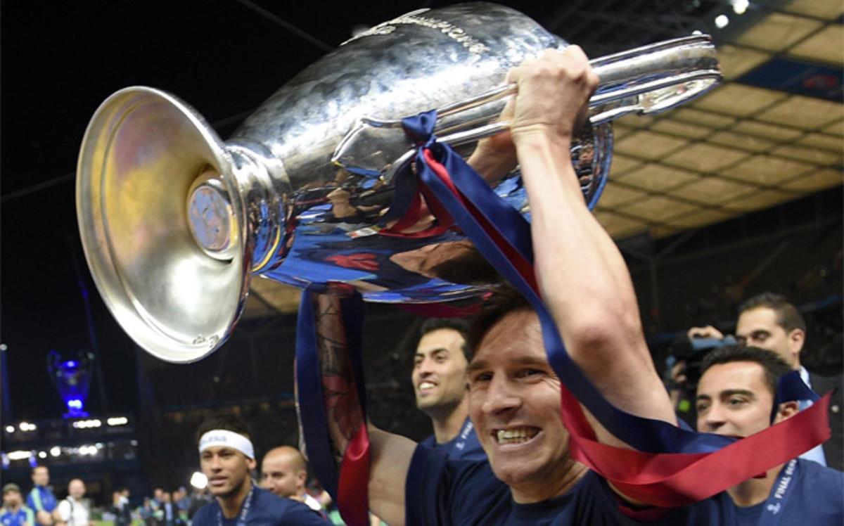 Messi ma więcej pucharów niż lat