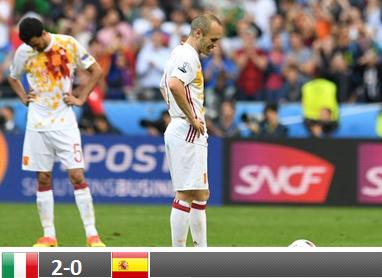 Hiszpania odpada z Euro!