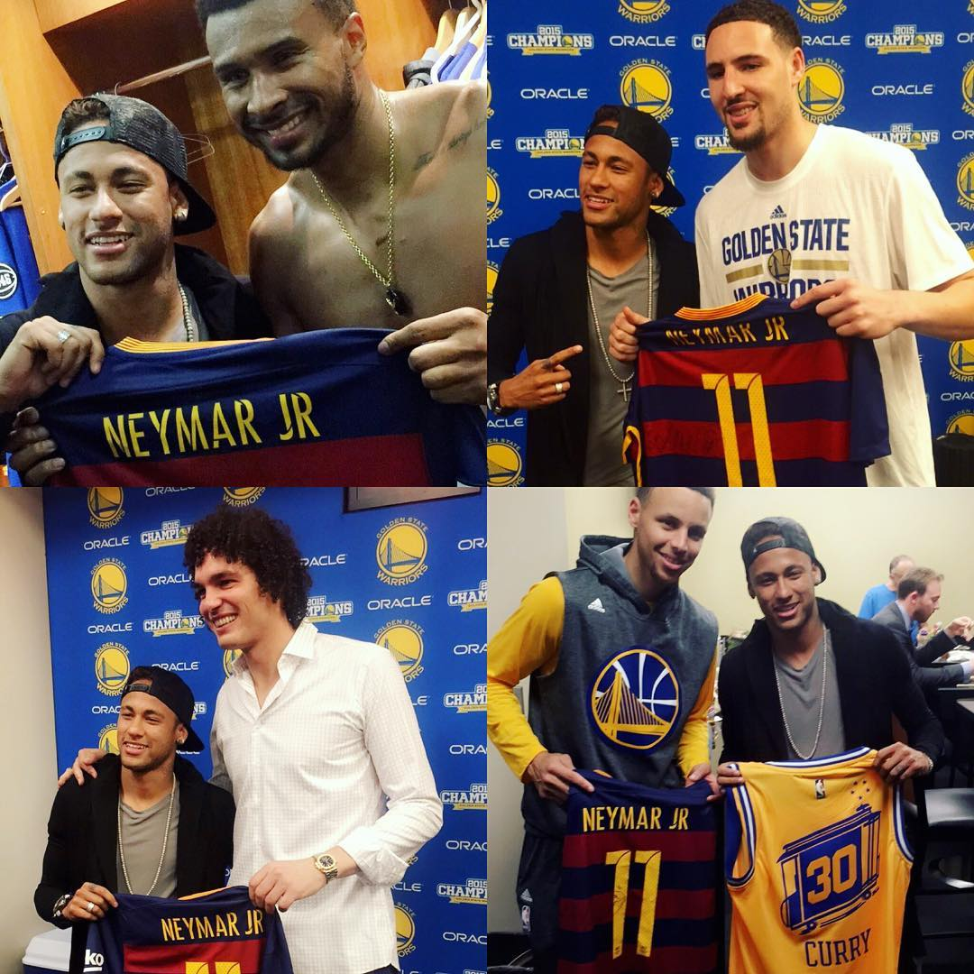 Neymar na finale NBA
