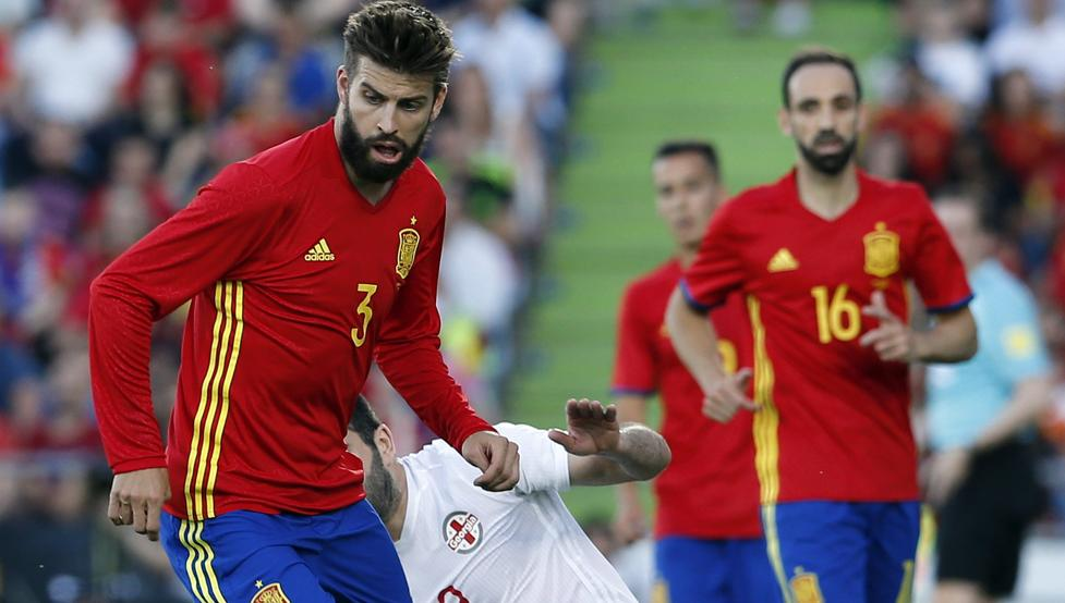Hiszpania uległa Gruzji