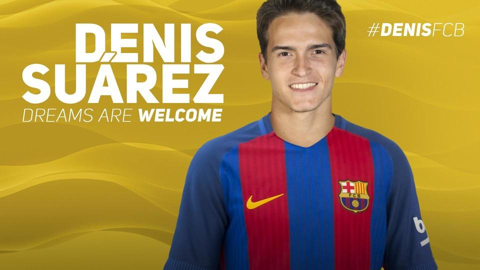Oficjalnie: Denis Suarez w Barcelonie!