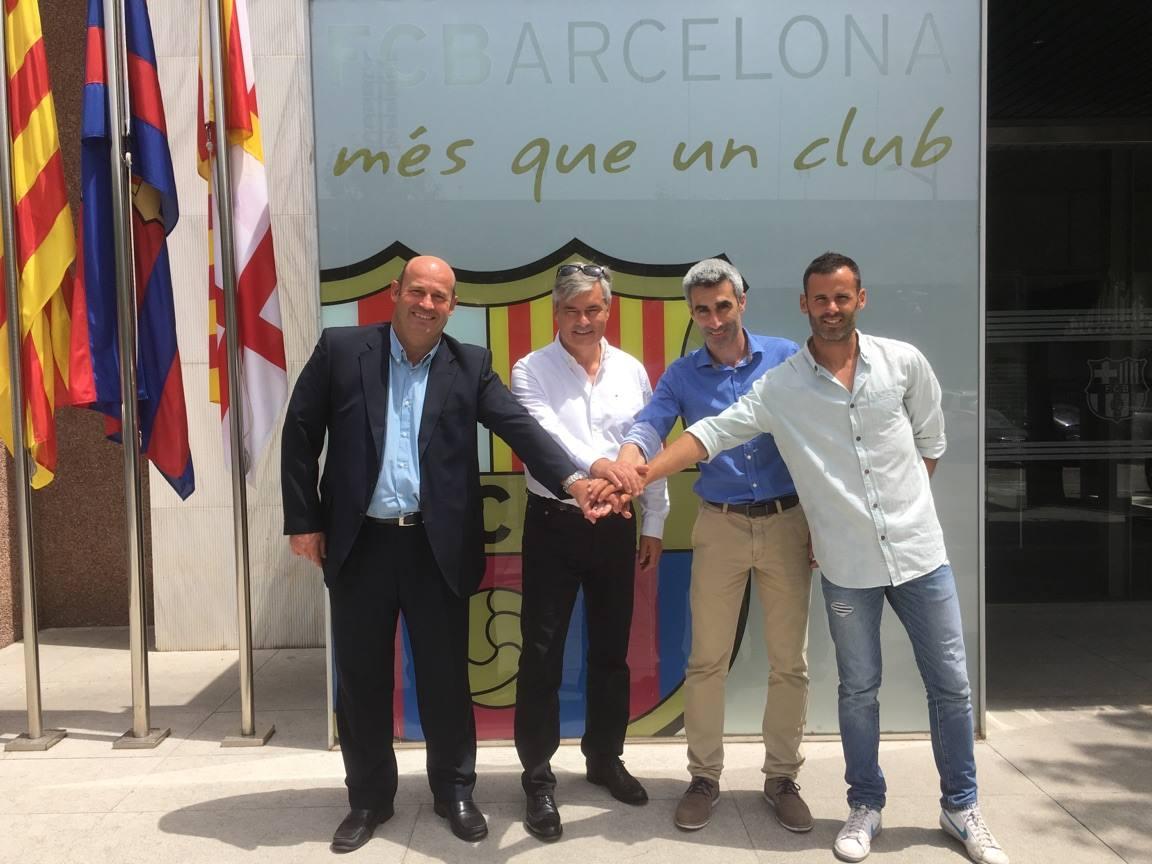 Barca przedłuża współprace z FCBEscola Varsovia
