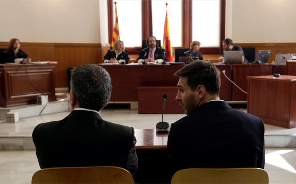 Messi skazany na 21 miesięcy wiezienia