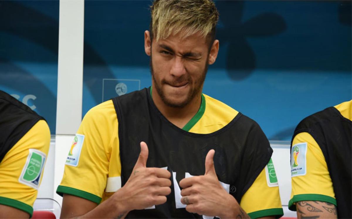 Neymar i Rafinha zaczęli zgrupowanie