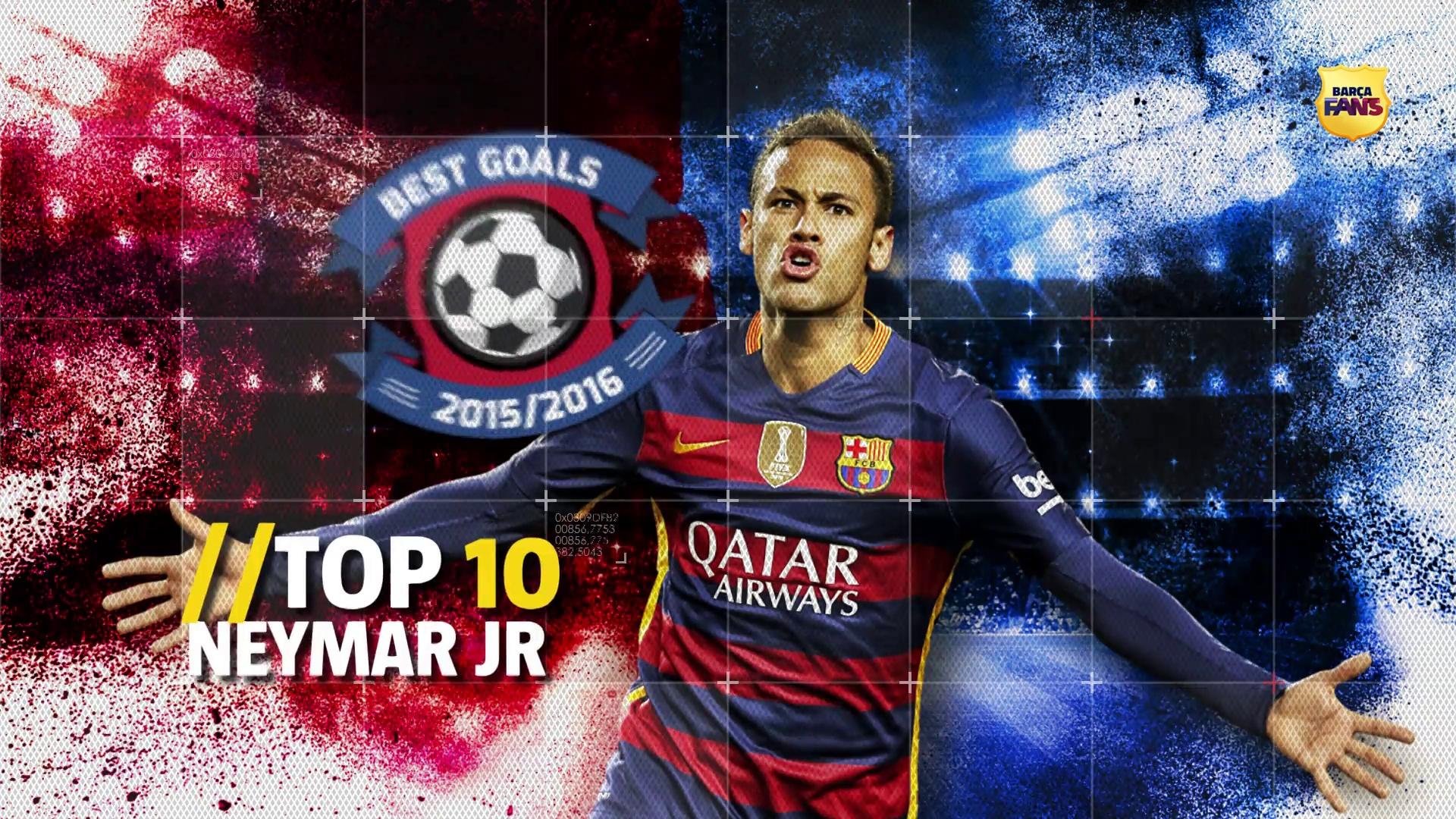 TOP 10 bramek Neymara