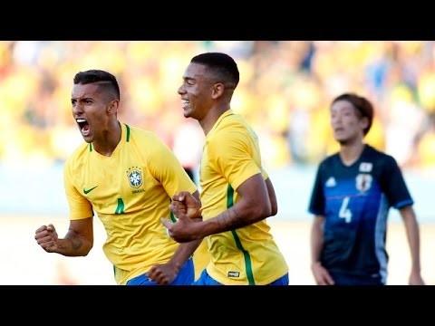 Wygrana Brazylii przed Igrzyskami