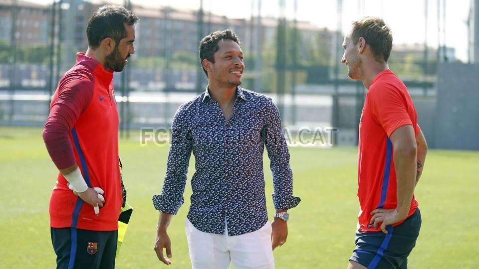 Adriano pożegnał się z kolegami
