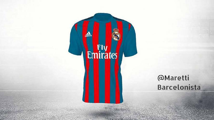 Trzeci strój Realu w barwach Barcy?
