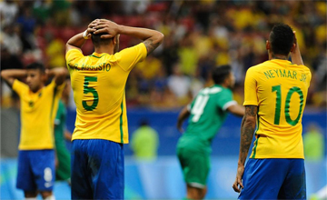 RIO 2016: Kolejny remis Brazylii