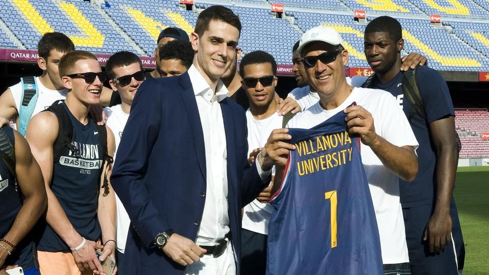 Koszykarze Villanova Wildcats na Camp Nou