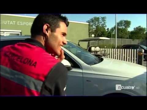 Gomes uderzył w samochód Suareza