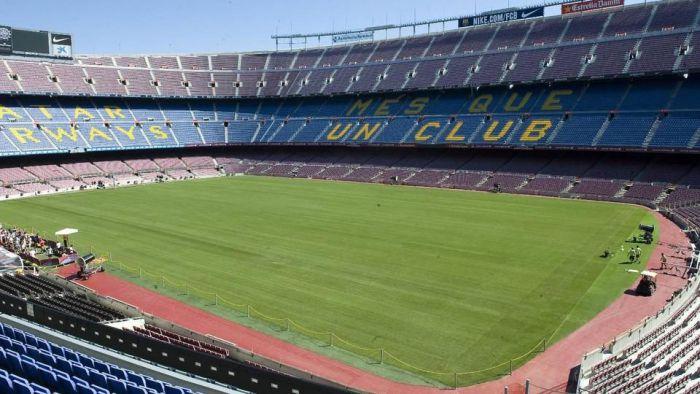 Nowa murawa na Camp Nou