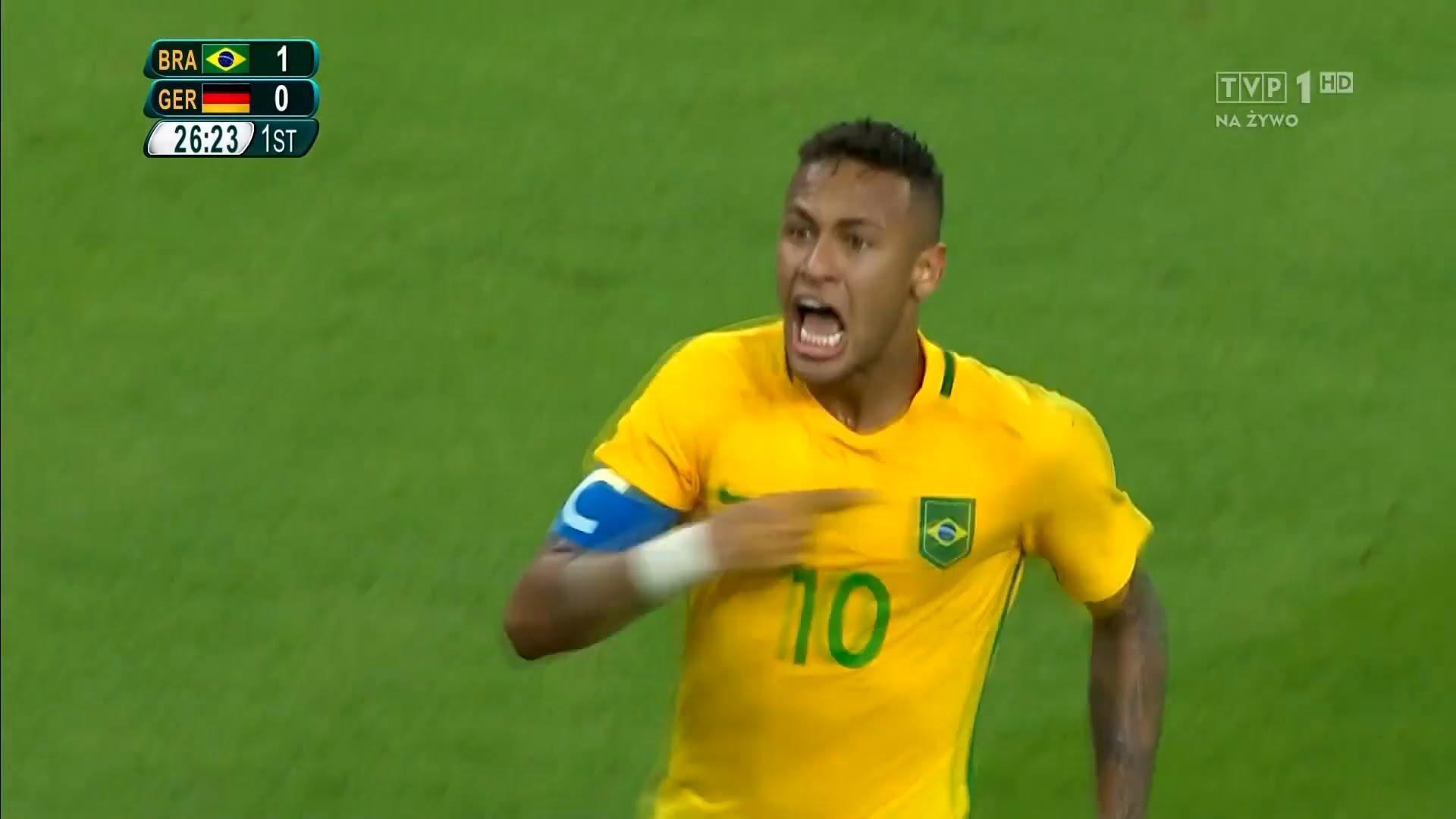 Neymar i Rafinha z olimpijskim złotem