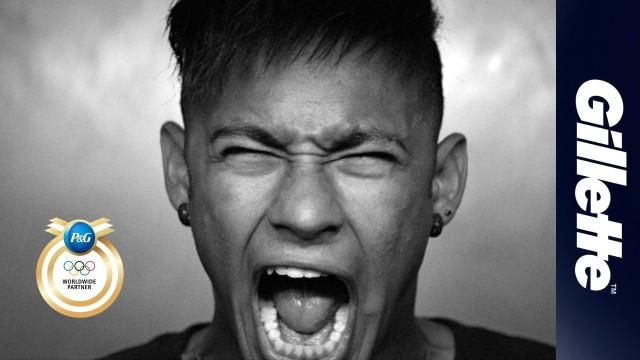 Neymar w wideo Gillette na igrzyska