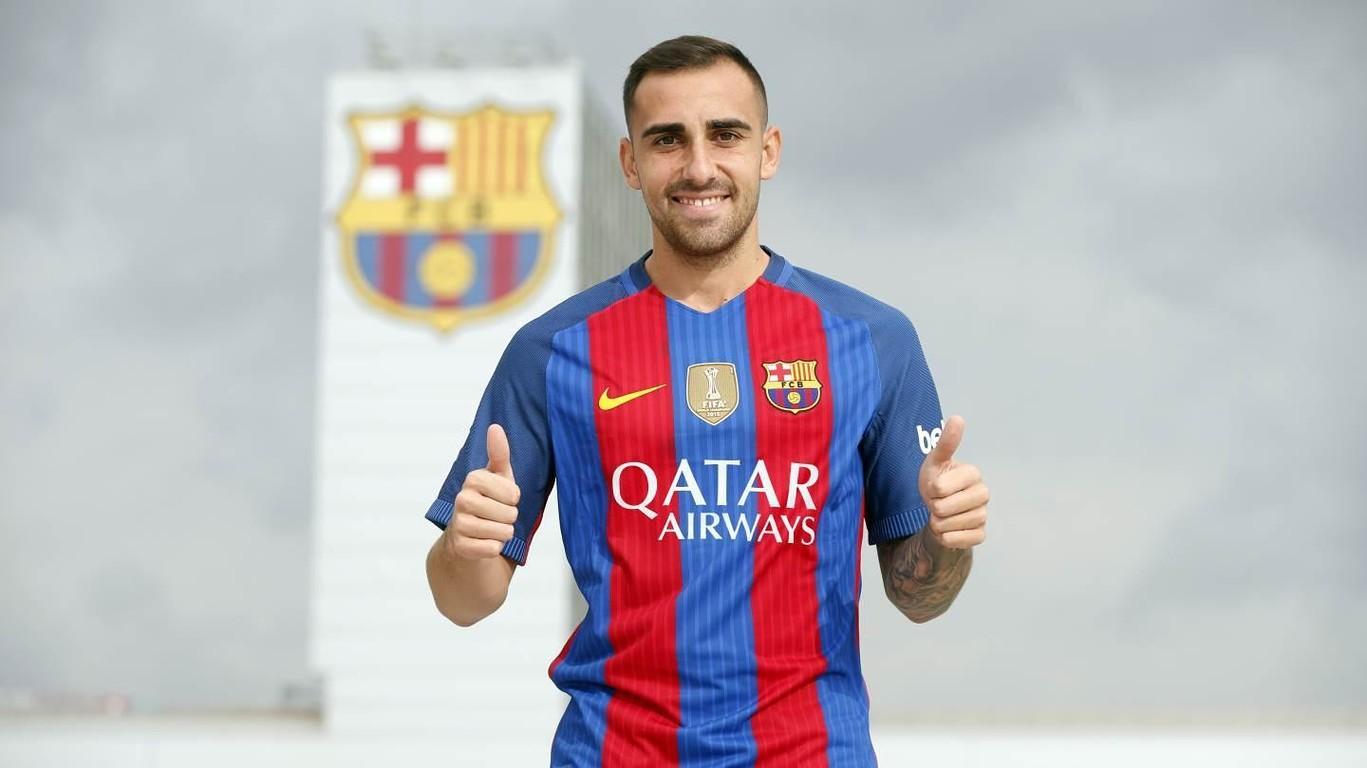 Oficjalnie: Paco Alcácer piłkarzem Barcelony