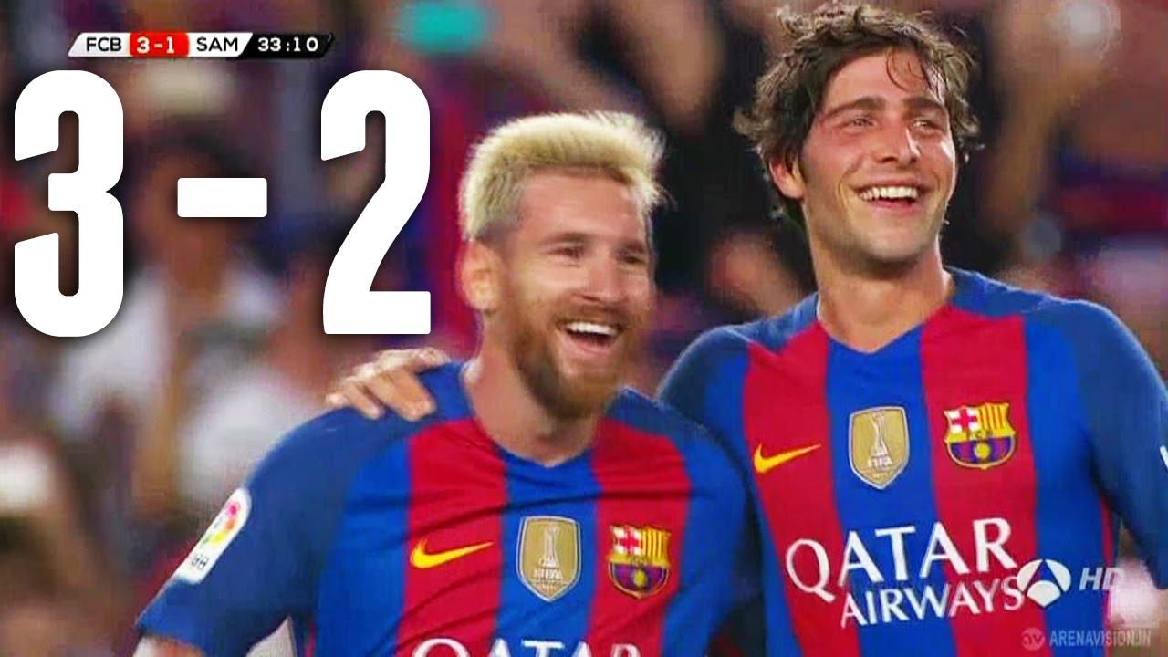 SKRÓT: FC Barcelona – Sampdoria