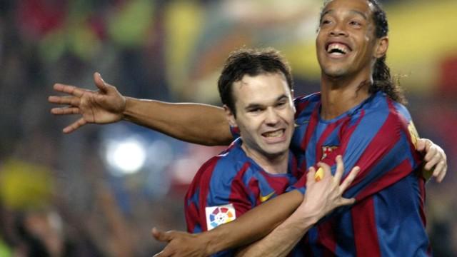 Podstęp Ronaldinho opowiedziany przez Iniestę