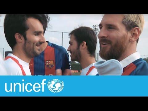 FC Barcelona VS reprezentacja niewidomych