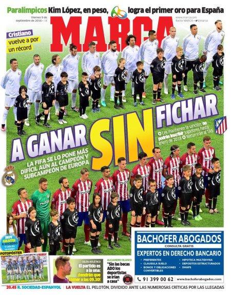 "Madrycka ""Marca"" po banie dla Realu i Atletico"
