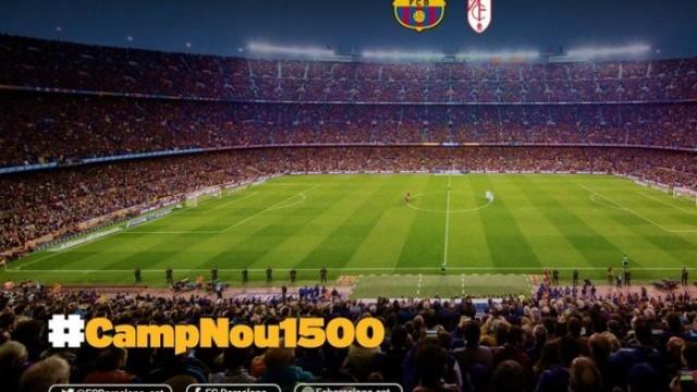 1500 mecz na Camp Nou