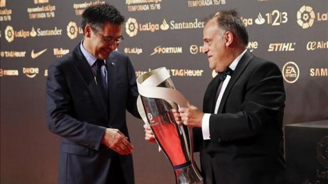 Messi i Suarez z nagrodami La Liga