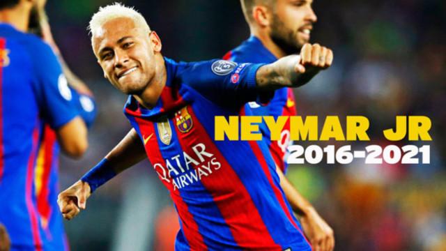 Neymar podpisze nowy kontrakt