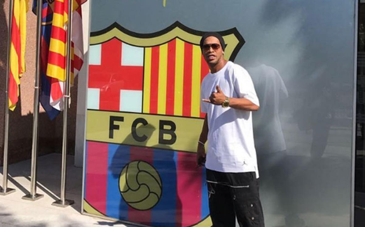 Ronaldinho wróci do klubu