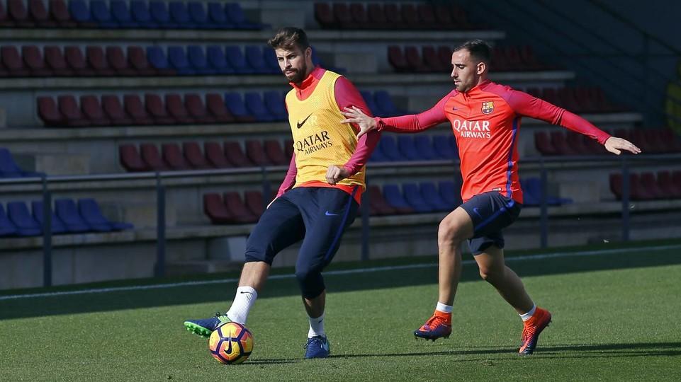 Pique i Alba gotowi do gry!