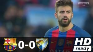 Skrót meczu z Malagą