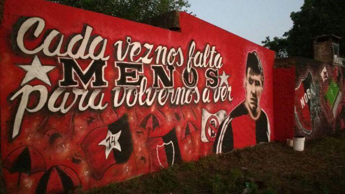 Specjalny mural dla Messiego