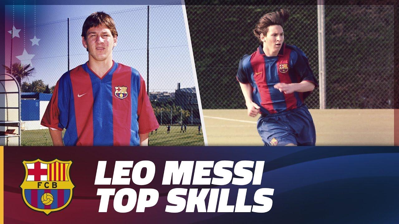 Najlepsze zagrania młodego Messiego