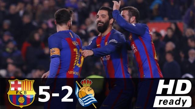 Barca w półfinale! – skrót meczu