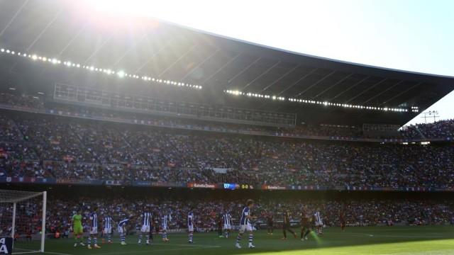 Camp Nou przekleństwem Sociedad