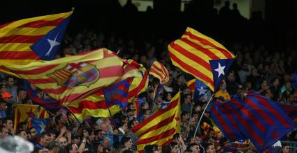 Ochrona zabrała fanom flagi przed meczem