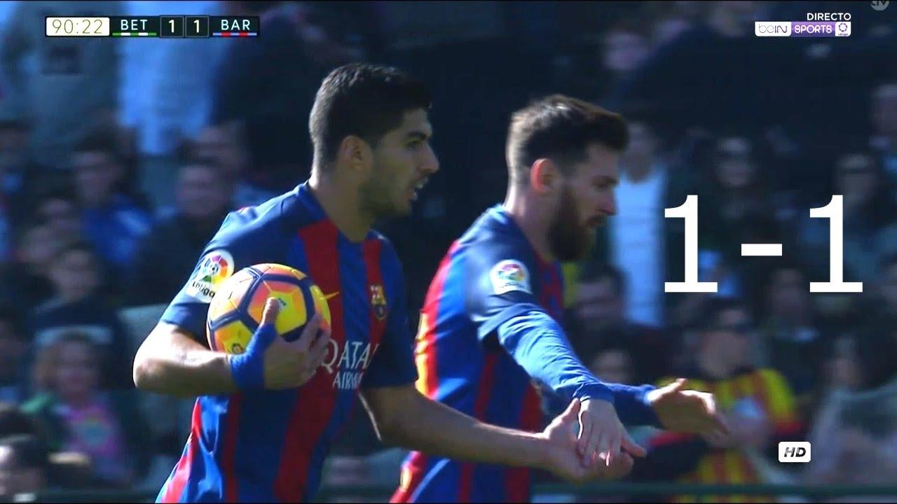 SKRÓT: Betis – FC Barcelona