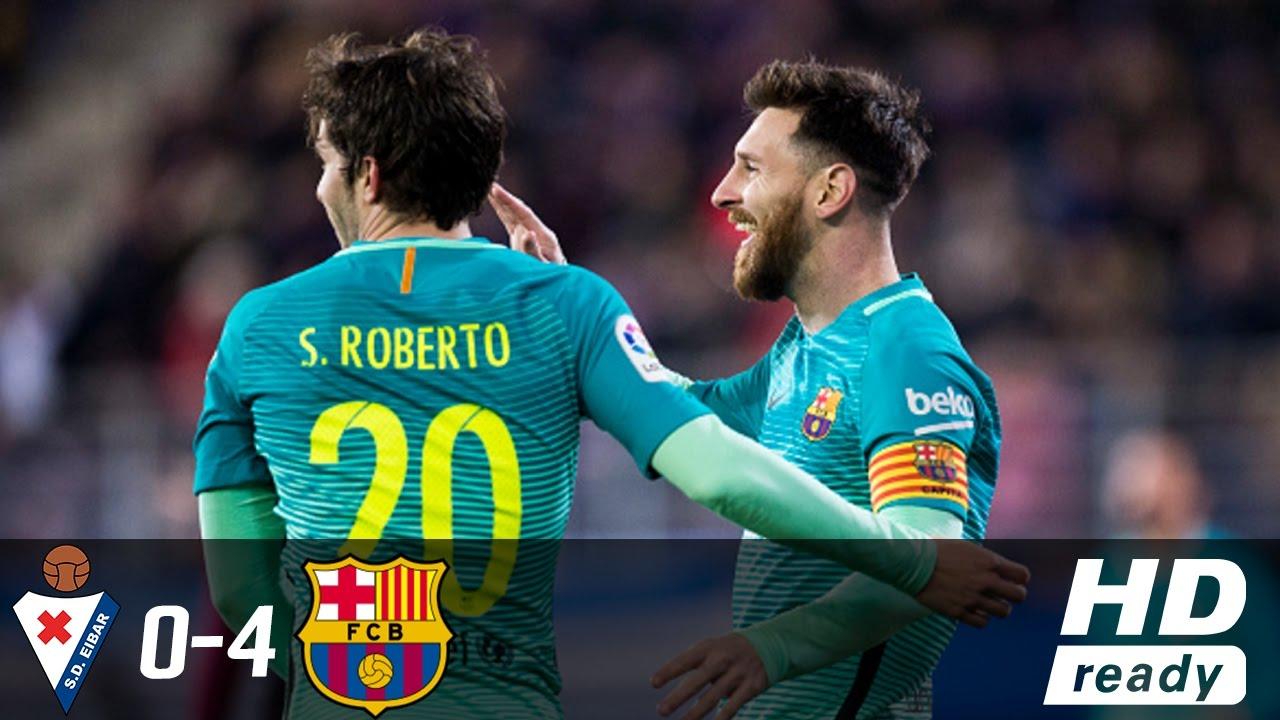 SKRÓT: Eibar – FC Barcelona
