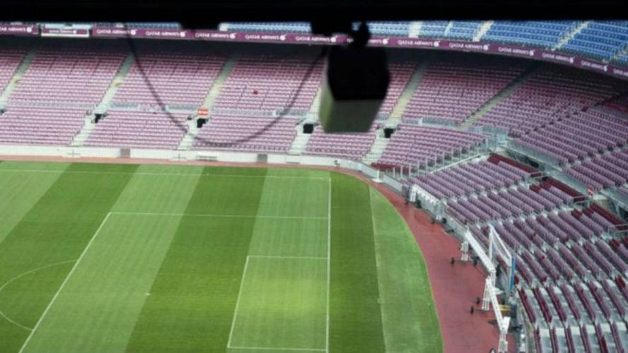 Zainstalowano kamere na Camp Nou