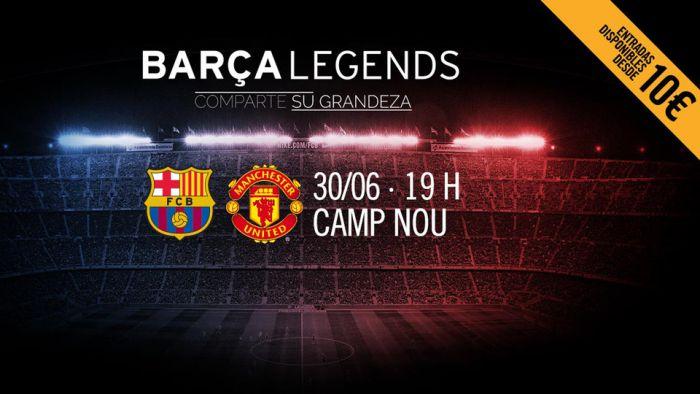 30.06 mecz legend Barcy i MU
