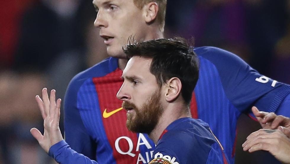 Messi nie celebrował gola