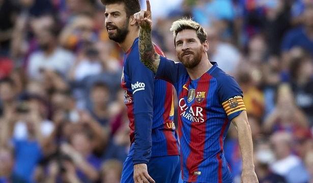 Messi i Pique przełożyli udział w reklamach