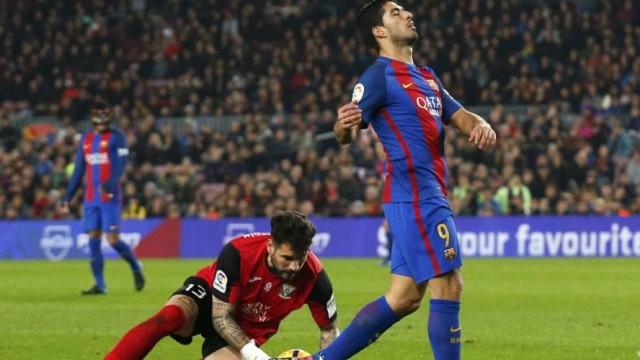 Suarez bez strzału w dwóch meczach