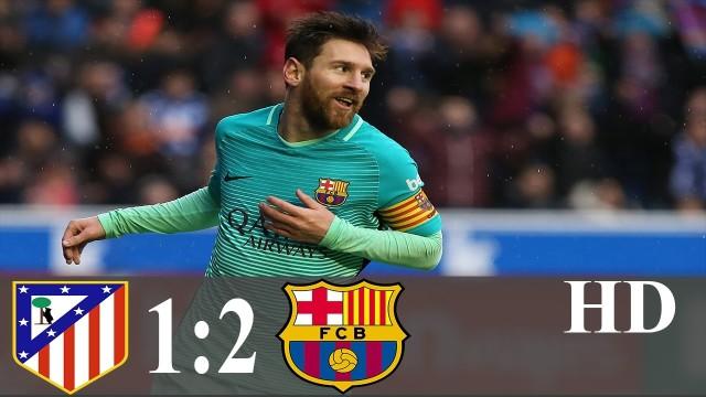 SKRÓT: Atletico – FC Barcelona