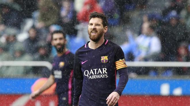Messi traci dużo piłek
