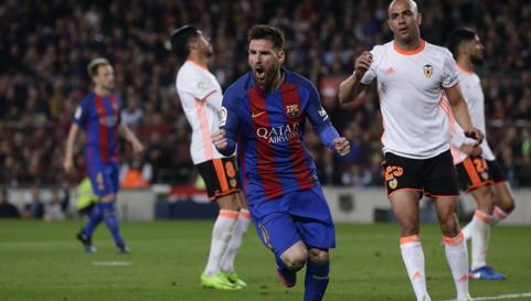 """Messi """"wykartkowany"""""""