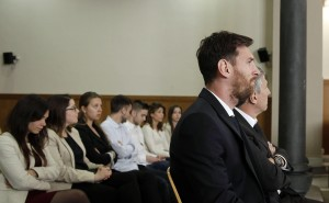 Trial of soccer player Lionel Messi in Barcelona