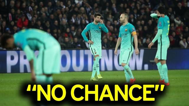 UEFA: 0% szans Barcy na awans do 1/4 LM