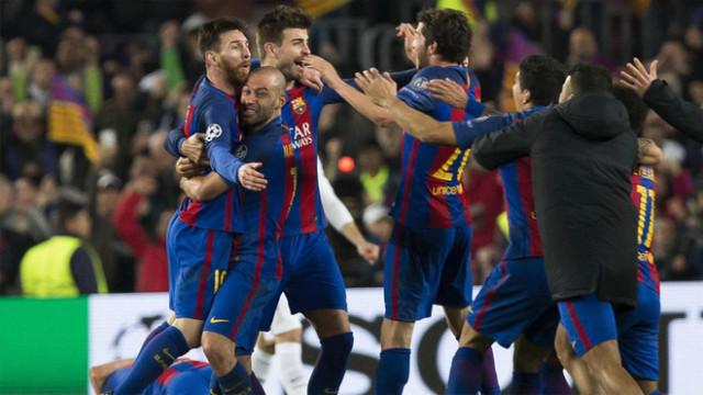 Barca ukarana za mecz z PSG