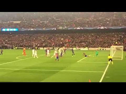 Reakcje na gola Sergiego Roberto