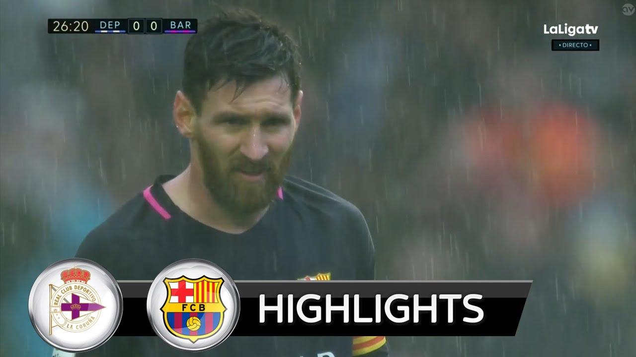 SKRÓT: Deportivo – Barcelona