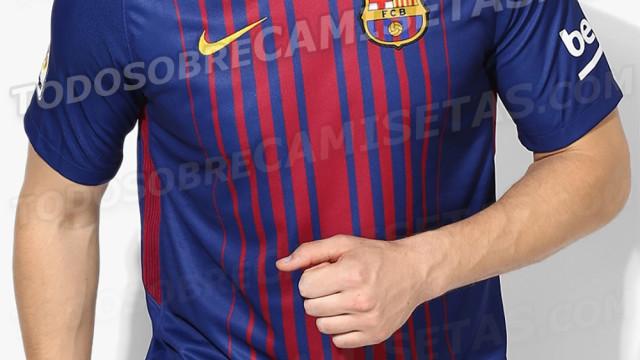 Zdjęcie koszulki na nowy sezon